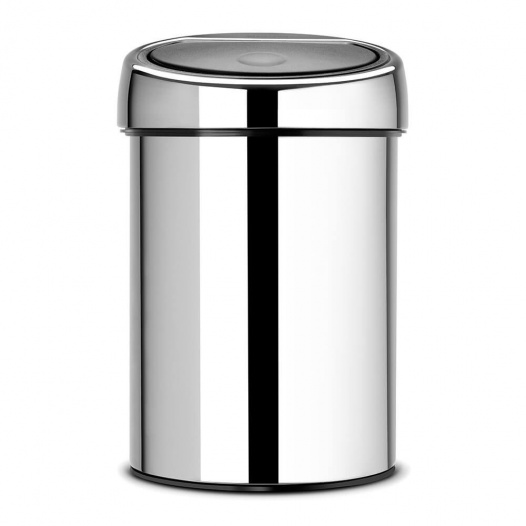 Touch Bin 3L - BRILLIANT STEEL