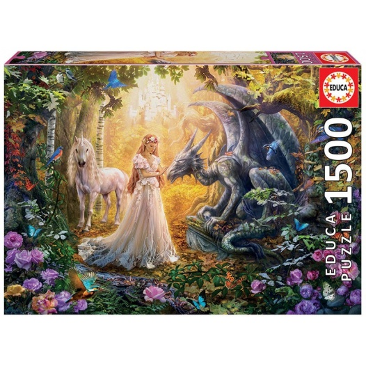 1500 DRAGAO,PRINCESA,UNICORNIO