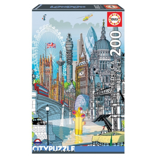 200 LONDON EDUCA CITY PUZZLE