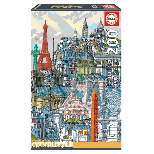 200 PARIS EDUCA CITY PUZZLE